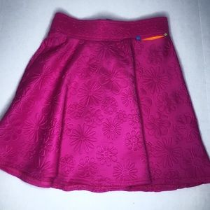 Hot Pink Little Mismatched Skirt, size 12